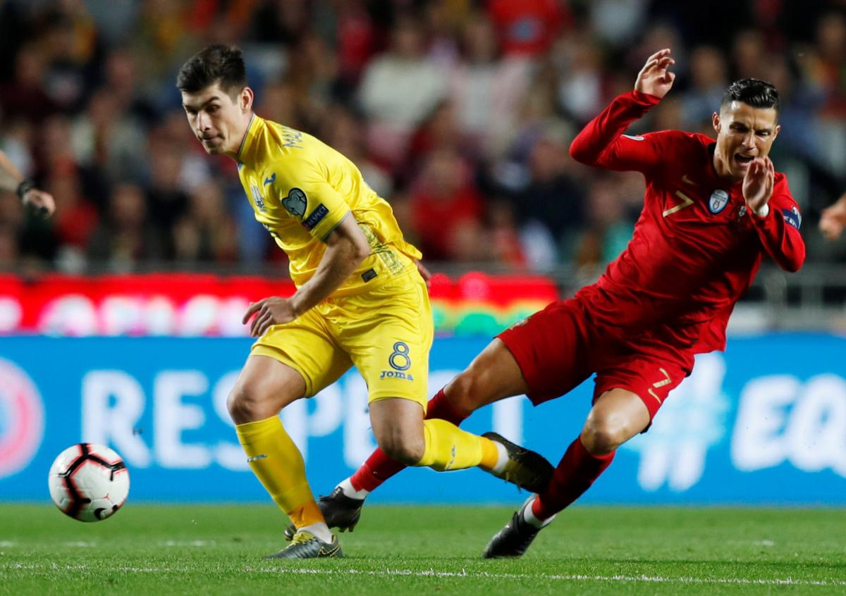 The Portugal vs. Ukraine match ends in a 0-0 draw / REUTERS