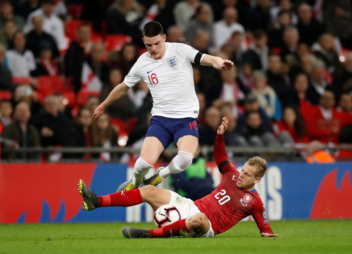 Англія розгромила Чехію у першому матчі відбору Євро-2020 / Reuters