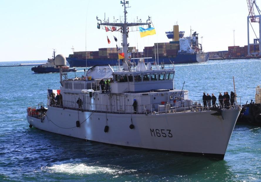 В составе экипажа Capricorne - 49 человек \ Думская