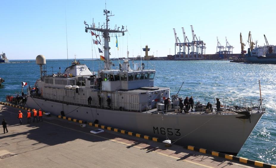 В Одессе корабль пробудет до 26 марта \ Думская