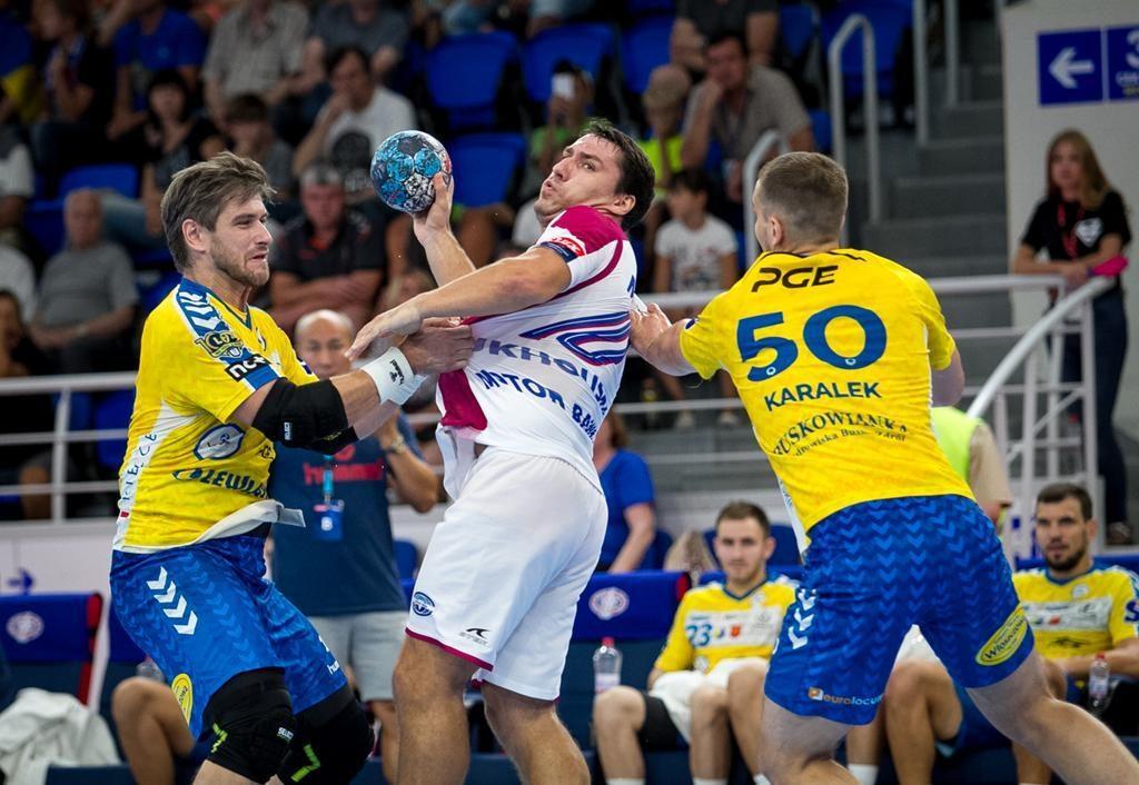 Мотор і Виве Кельце не визначили переможця у матчі Ліги чемпіонів / handball.motorsich.com