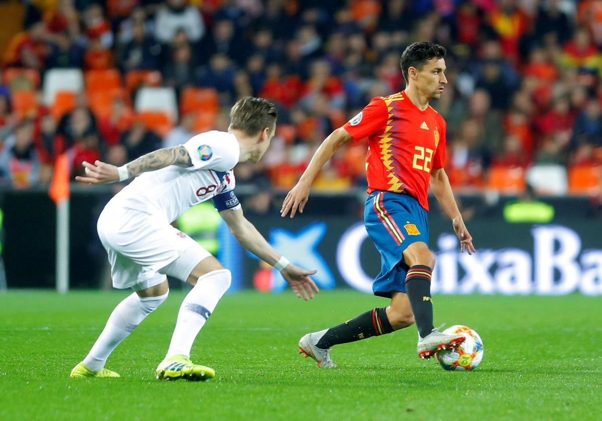 Сборная Испании уверенно переиграла команду Норвегии на старте отбора Евро / Reuters
