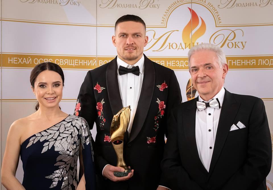 Олександр Усик - найкращий спортсмен року в Україні / K2 Promotions Ukraine