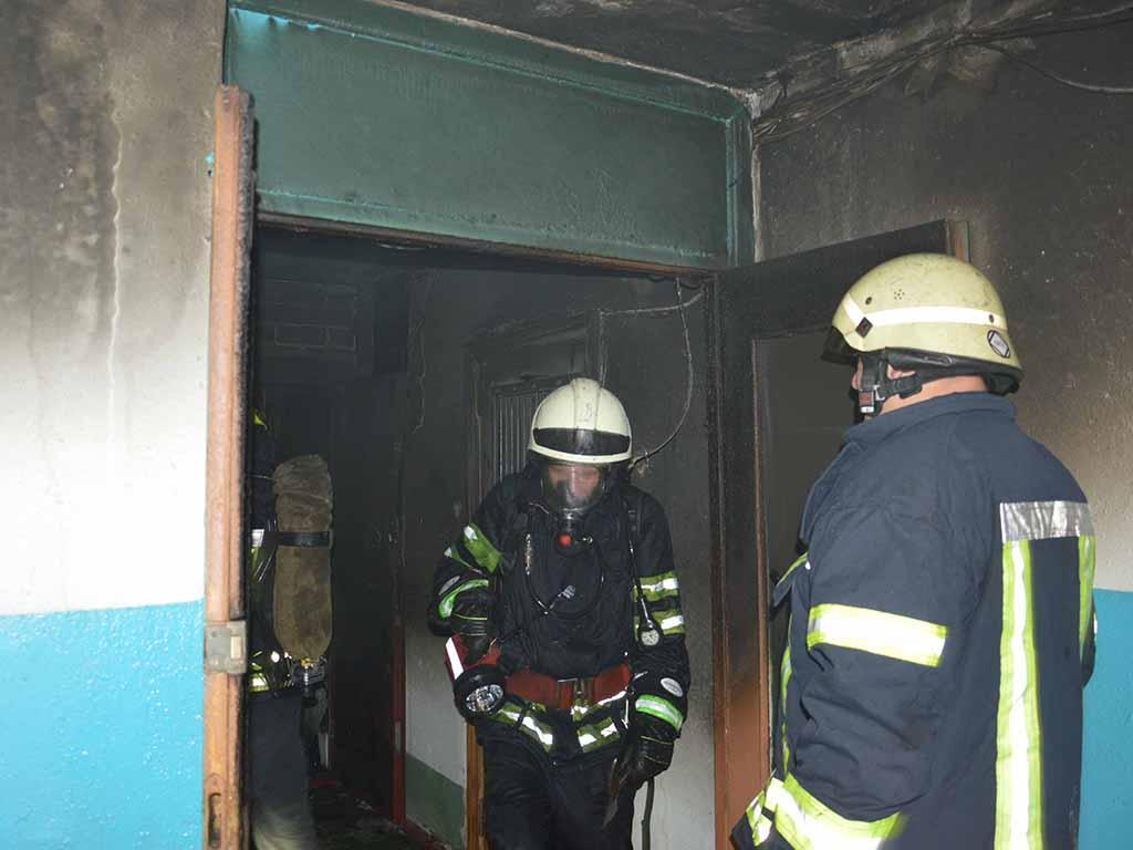 Причину пожежі встановлюють правоохоронні органи / фото dp.dsns.gov.ua