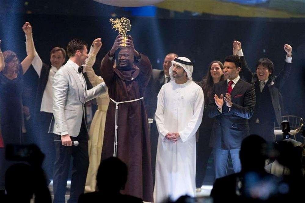 Церемонія вручення премії кращому вчителю світу / Фото: mediaoffice.ae