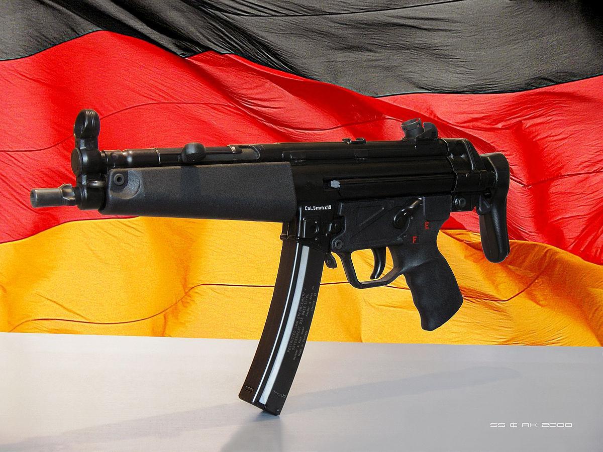 Наряды национальной полиции вооружат немецкими MP-5 / Wikipedia