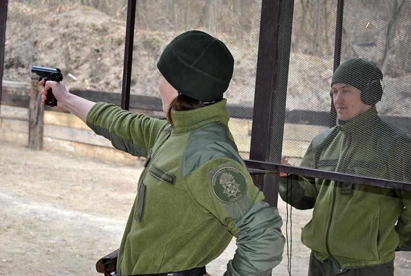 Родзинкою цьогорічних змагань стала участь жінок-військовослужбовців \ Нацгвардія
