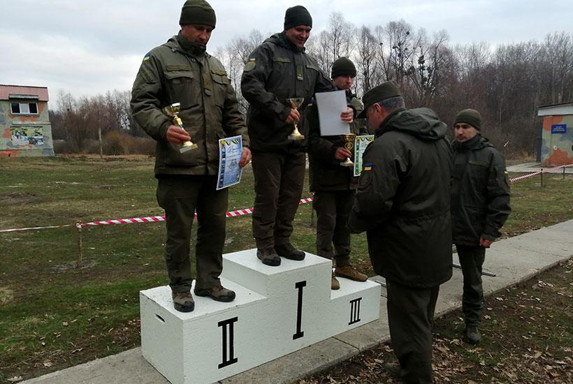 Першемісце зайняла команда 3-їбригади оперативного призначення \ Нацгвардія