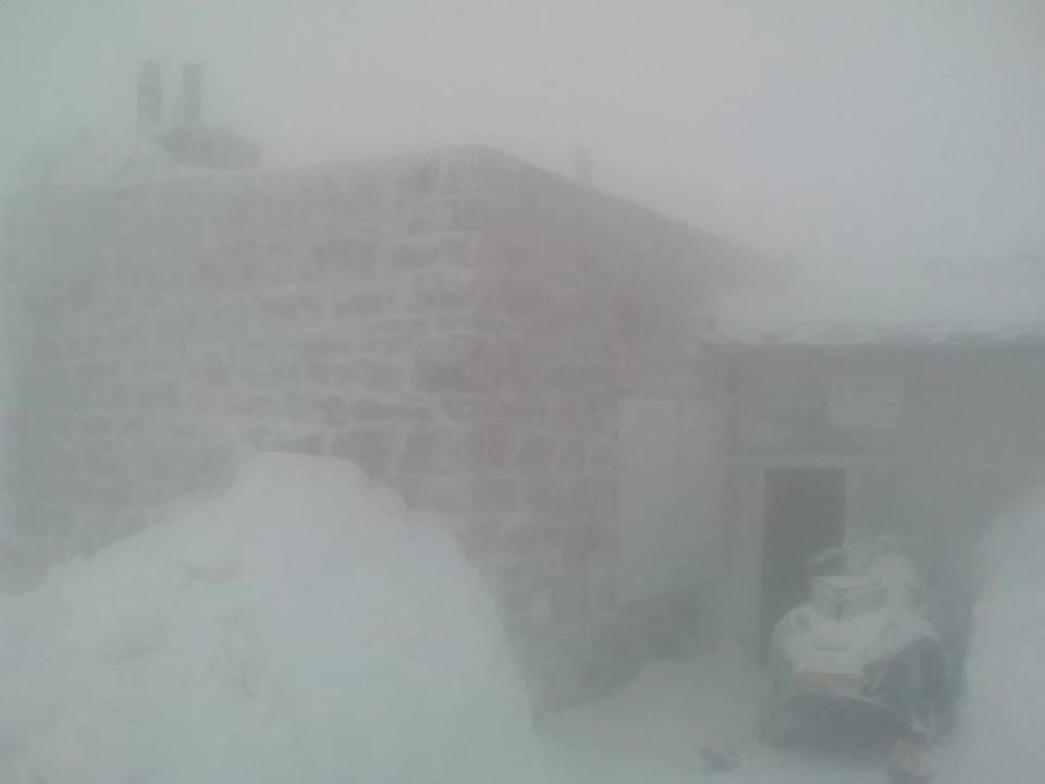 Видимость ограничена до 20 м / фото facebook.com/chornogora.rescue112