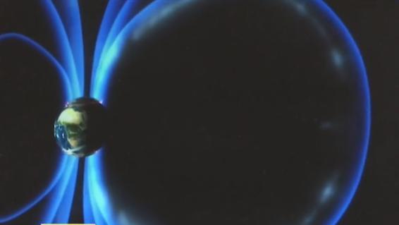 В конце марта на Землю обрушатся магнитные бури / Скриншот