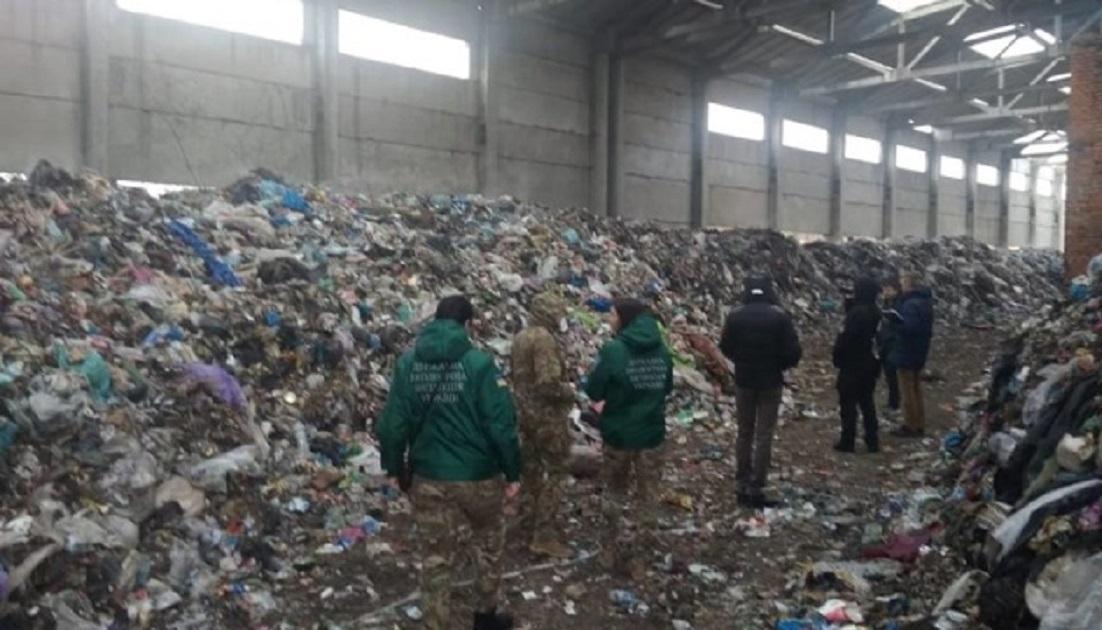 На Житомирщині протестували проти сміття/ фото - zhytomyr.tv