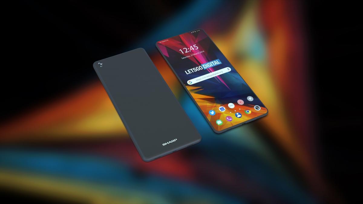 Sharp планирует попасть в высший дивизион за счёт выпуска складного смартфона / фото gizmochina.com