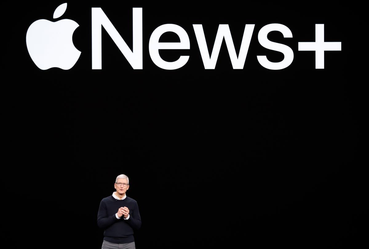 Apple News+ / REUTERS