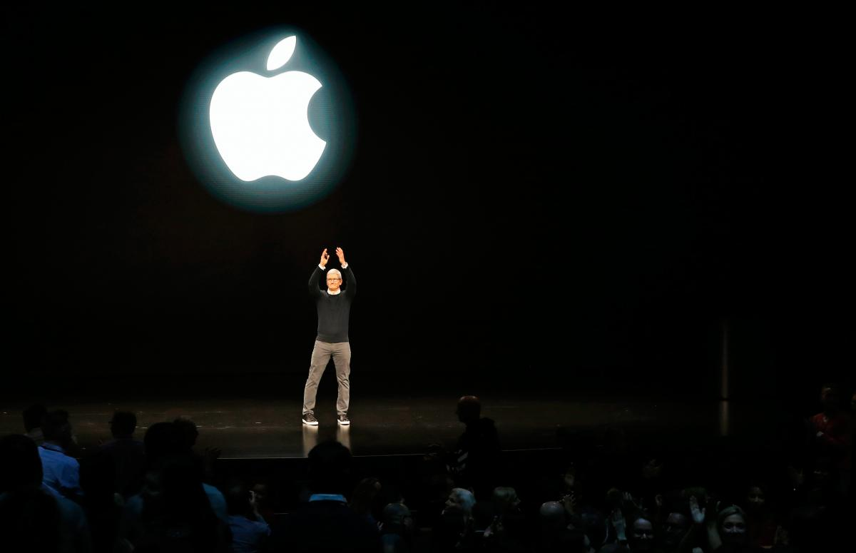 Презентация Apple / REUTERS