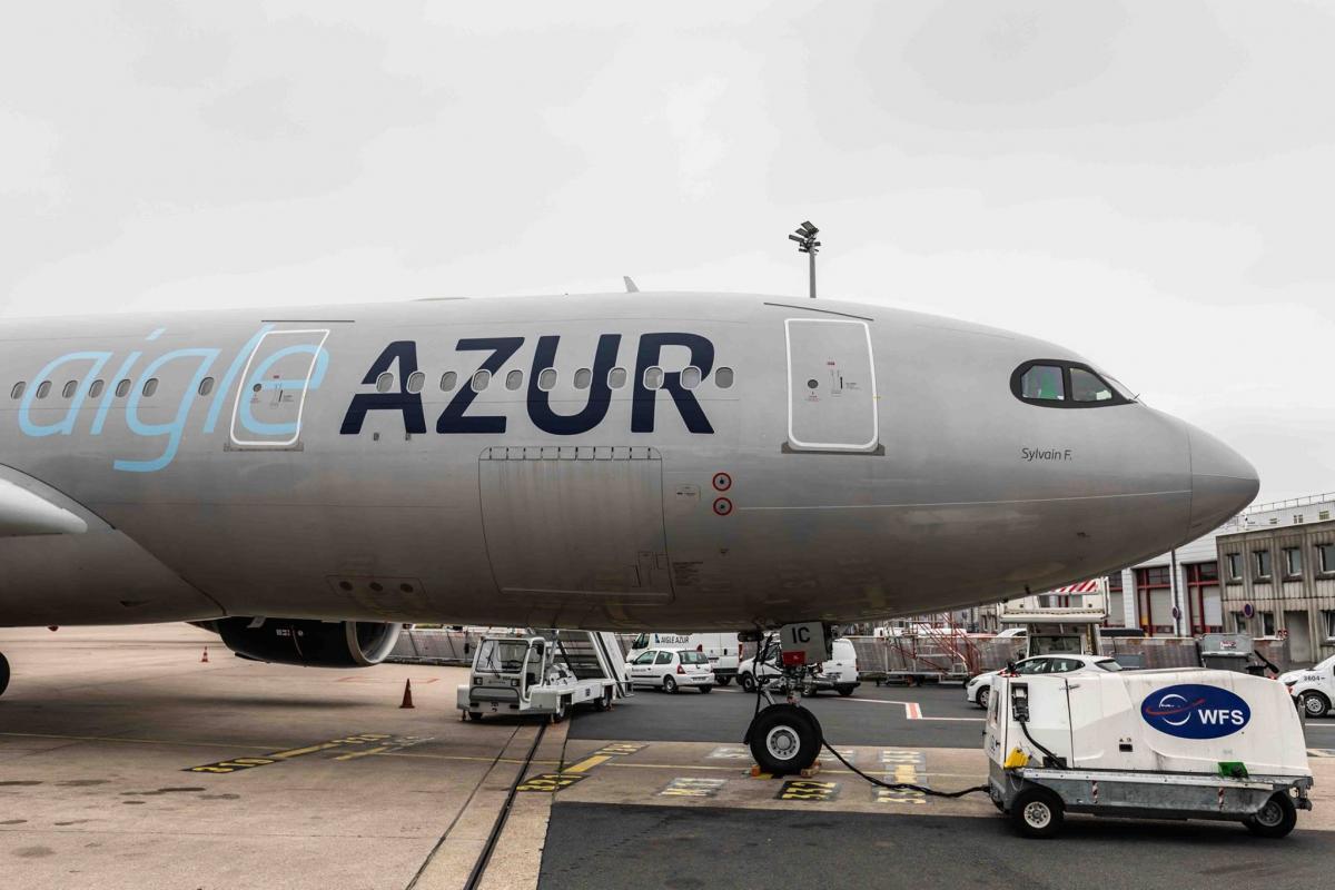 Рейсы будут выполняться три раза в неделю / фото facebook/pg/aigleazur.france