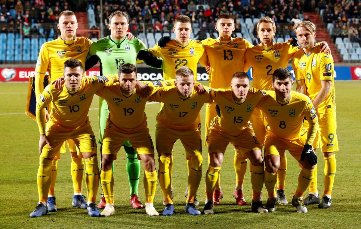 Стартовый состав на матче с Люксембургом / REUTERS