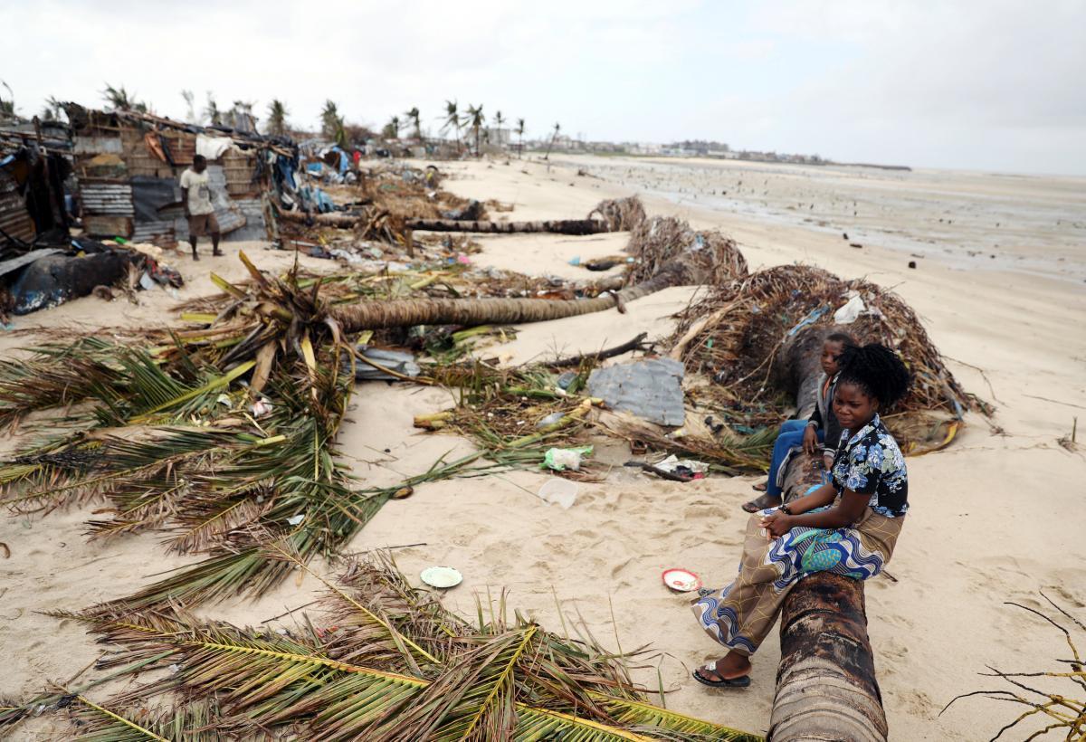 Последствия наводнения в Мозамбике / REUTERS