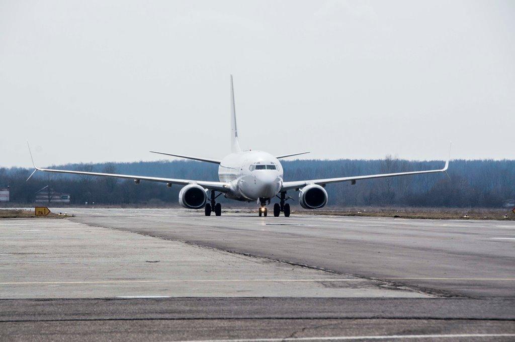 Из Полтавы туристы полетели самолетом «Боинг» 737-700 / фото adm-pl.gov.ua