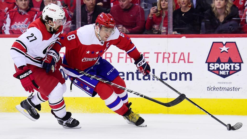Овечкин вплотную приблизился к очередному рекорду в НХЛ / nhl.com