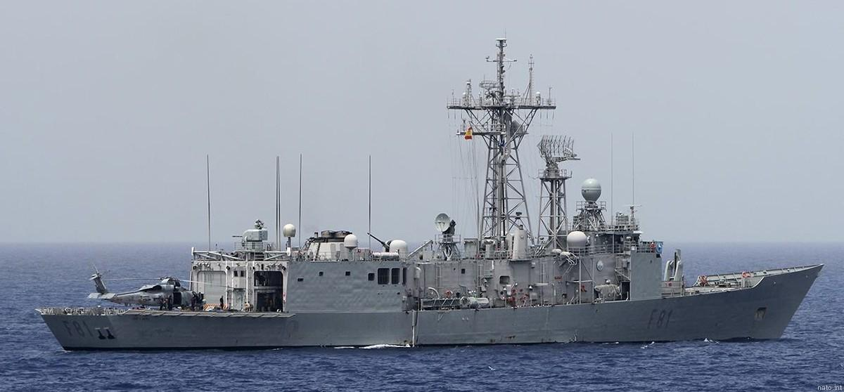 Фрегат ВМС Испании «Санта Мария» / фото seaforces.org