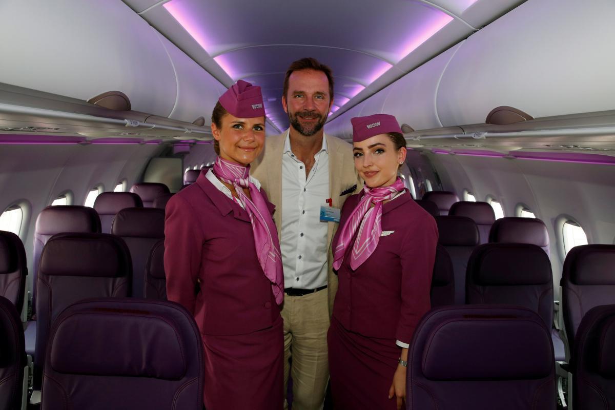 CEO авиакомпании WOW Air Скуле Могенсен / REUTERS