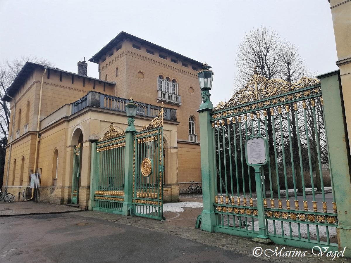 Штаб-квартираФонда прусских дворцов и садов Берлина– Бранденбурга / Фото Марина Григоренко