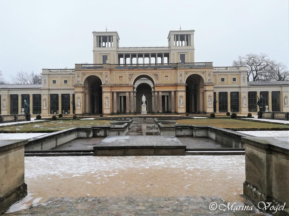 Оранжерейный дворец в Сансуси / Фото Марина Григоренко