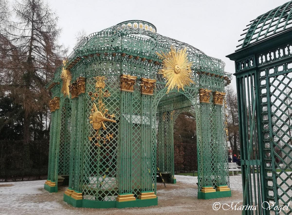 За этой беседкой находится могила Фридриха Великого / Фото Марина Григоренко