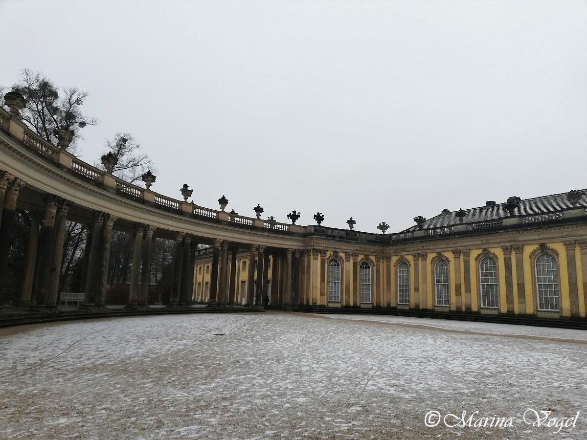 Дворец Сансуси в Потсдаме / Фото Марина Григоренко