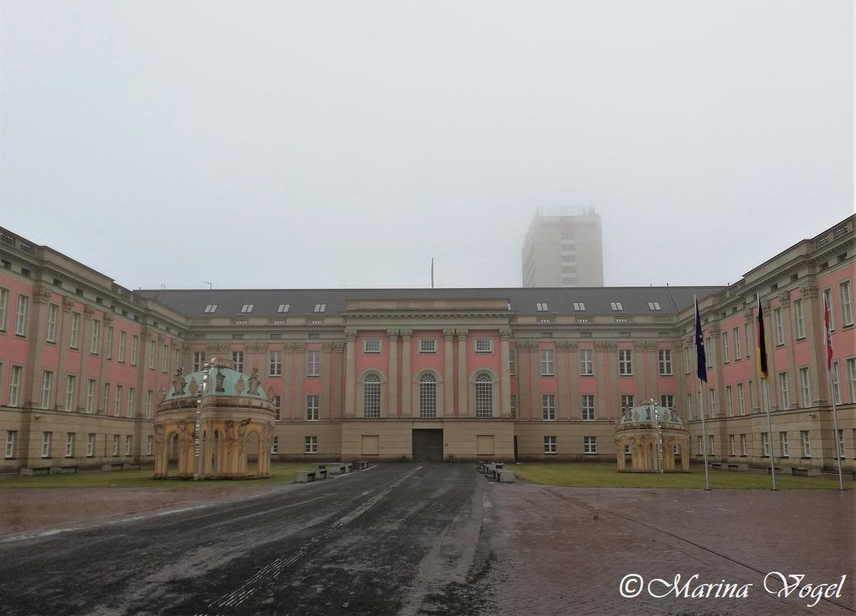 Потсдамский городской дворец - внутренний дворик / Фото Марина Григоренко