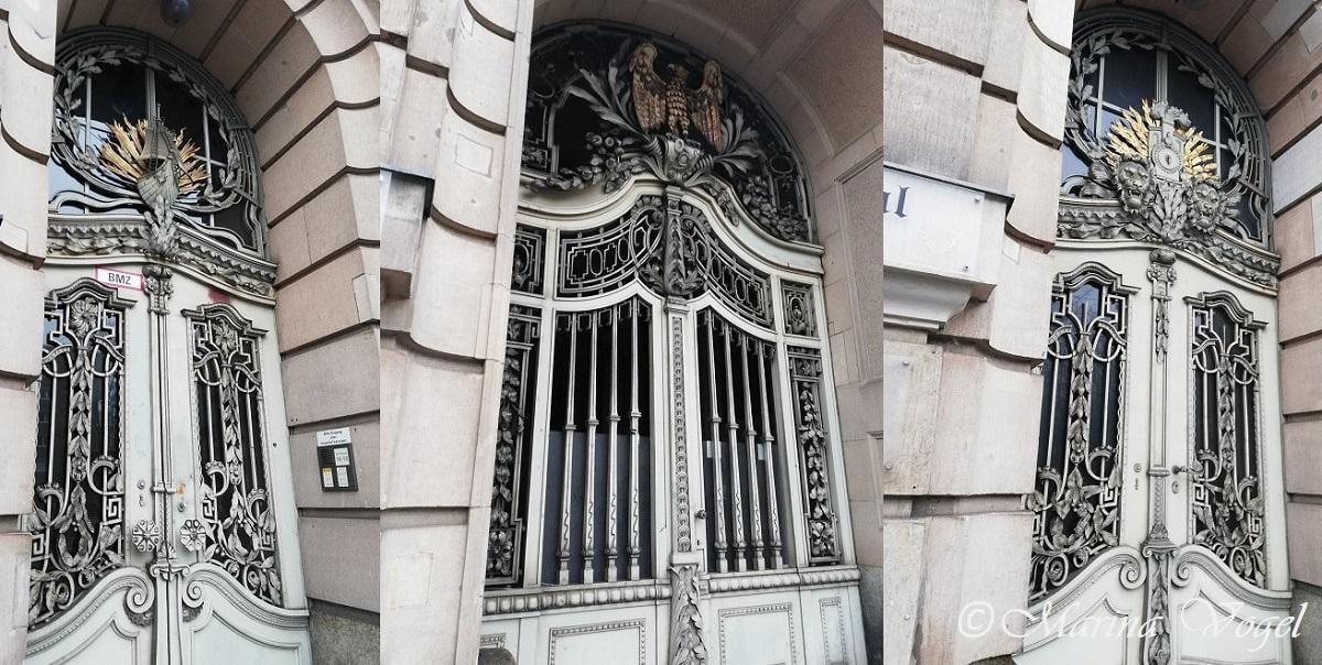 Двери Das Palais Am Stadtkanal на Йоркштрассе / Фото Марина Григоренко