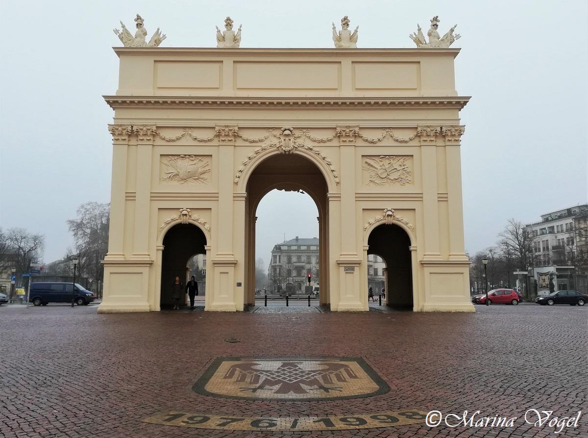 Малые Бранденбургские ворота в Потсдаме / Фото Марина Григоренко