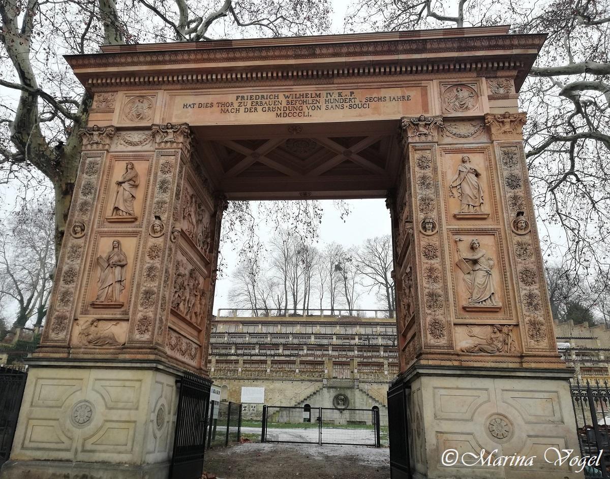 Триумфальная арка у виноградника Winzerberg в Потсдаме / Фото Марина Григоренко