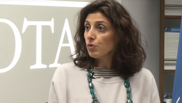 Розария Пуглиси рассказала об учениях НАТО в Грузии / скриншот