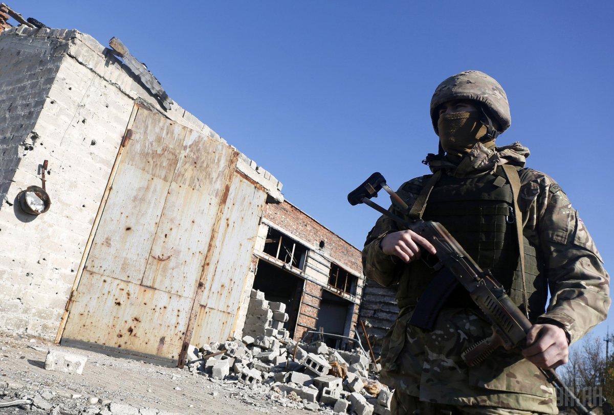 По данным разведки 25 июня двоеоккупантов ранены / фото УНИАН