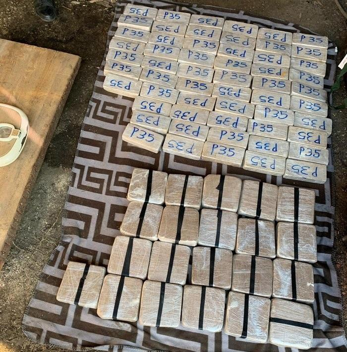 Было изъято более 120 килограммов героина/ фото ssu.gov.ua