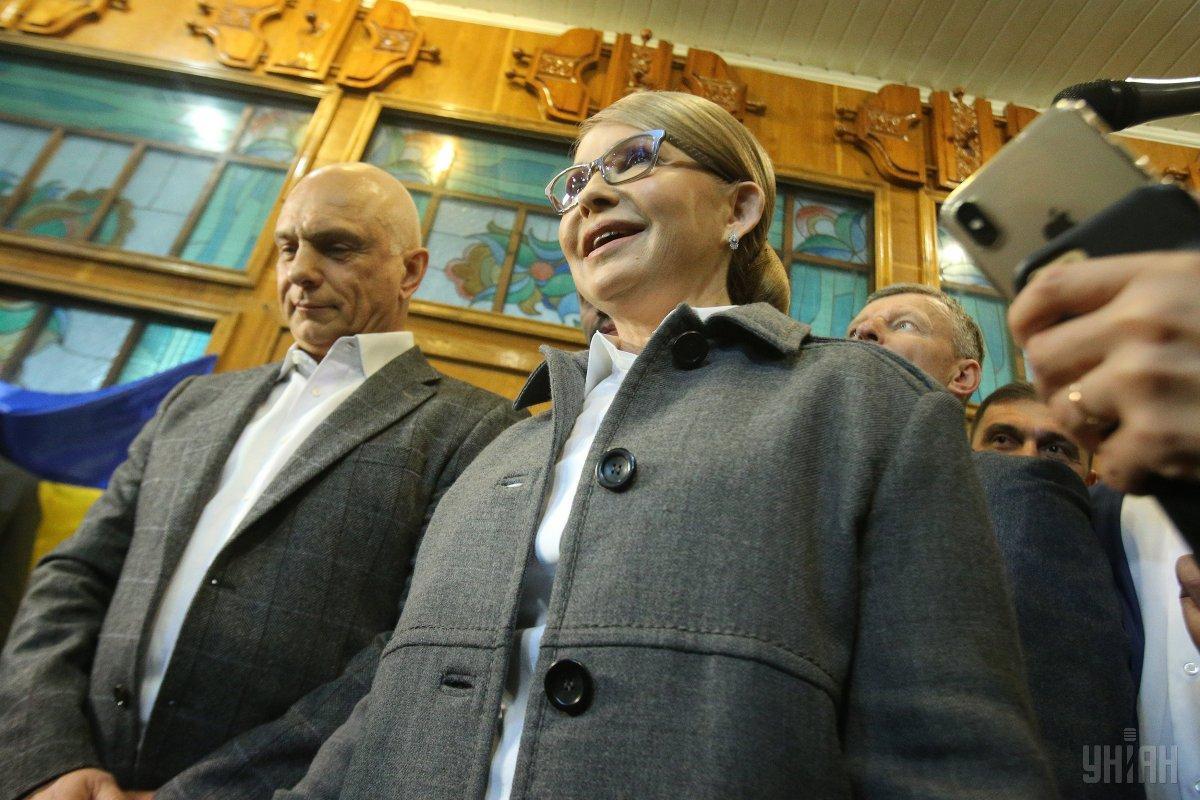 Тимошенко думает над предложением Зеленского стать арбитром в дебатах \ УНИАН