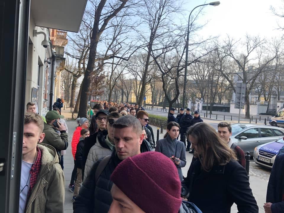 Чергавиходить далеко за рамки посольства / фото Facebook Українці в Польщі