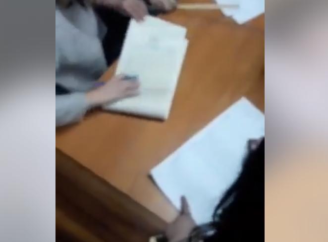 Відео інциденту з'явилося в мережі / Скріншот