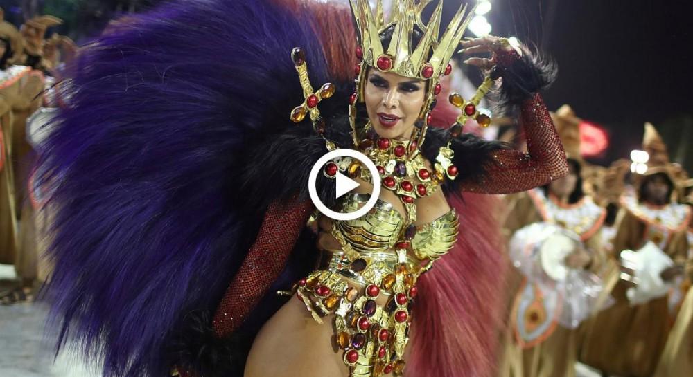 Сексуальное шоу в бразилии видео