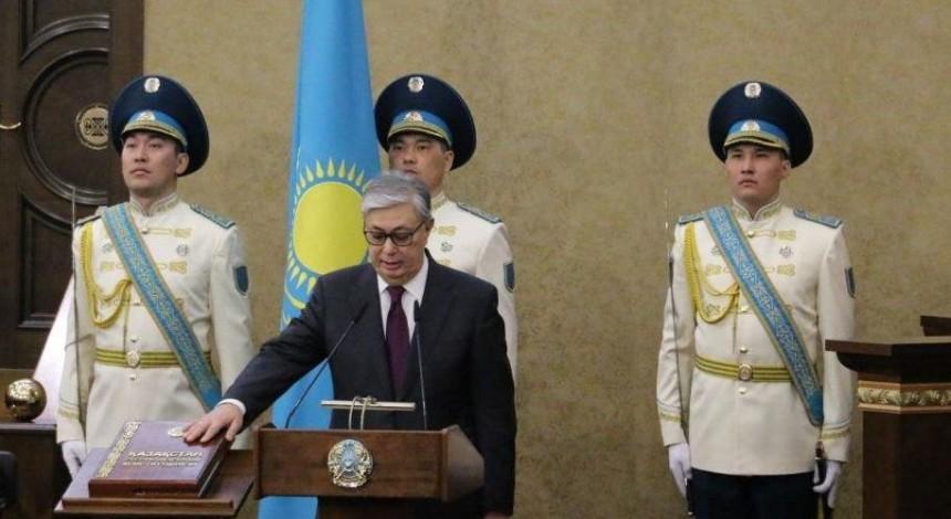 Tokayev sworn in as Kazakhstan's new president
