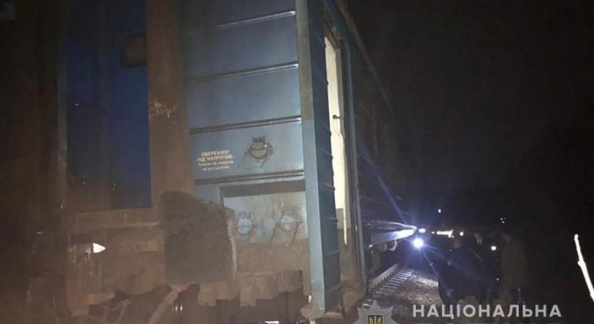 На Тернопільщині перекинувся один з вагонів потяга з пасажирами (фото)