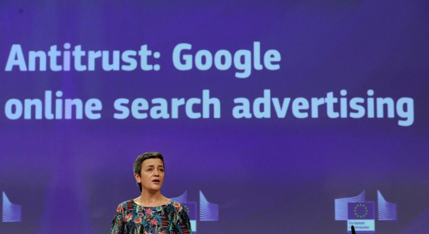 European Commission fines Google EUR 1.49 bln for abusive practices in online advertising
