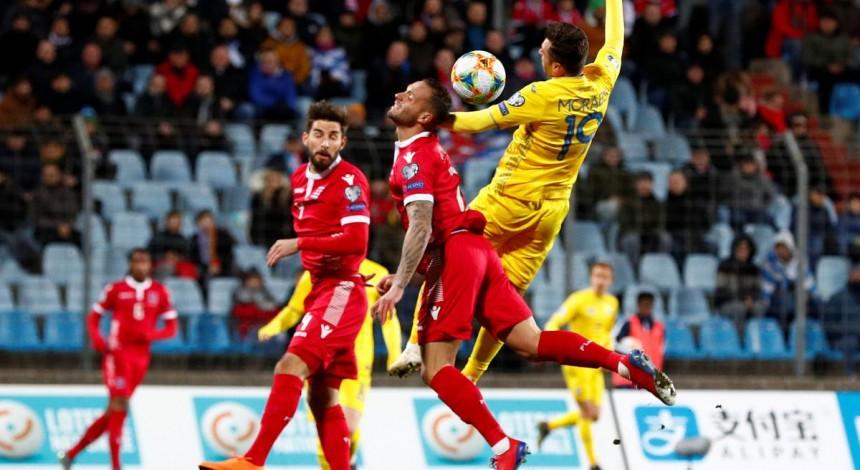 Сборная Украины смогла дожать Люксембург в матче отбора Евро-2020