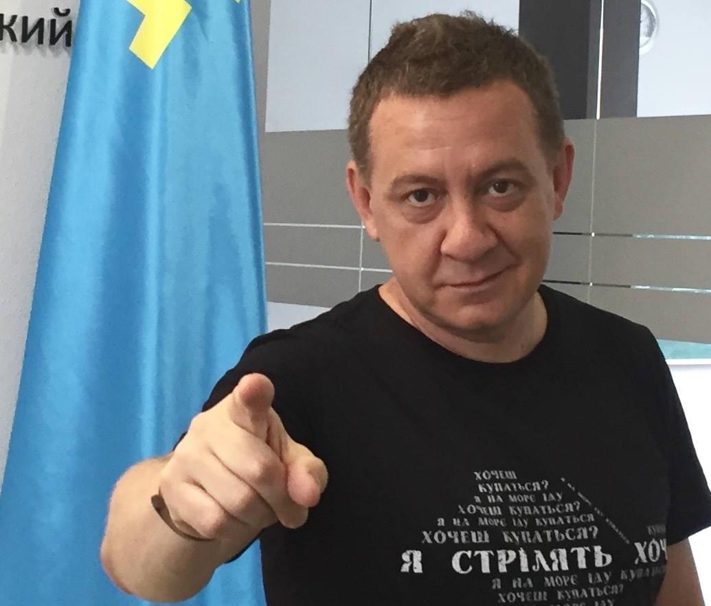 """Муждабаев о результатах голосования: """"Видимо, придётся стрелять"""" / фото facebook.com/ayder.muzhdabaev"""