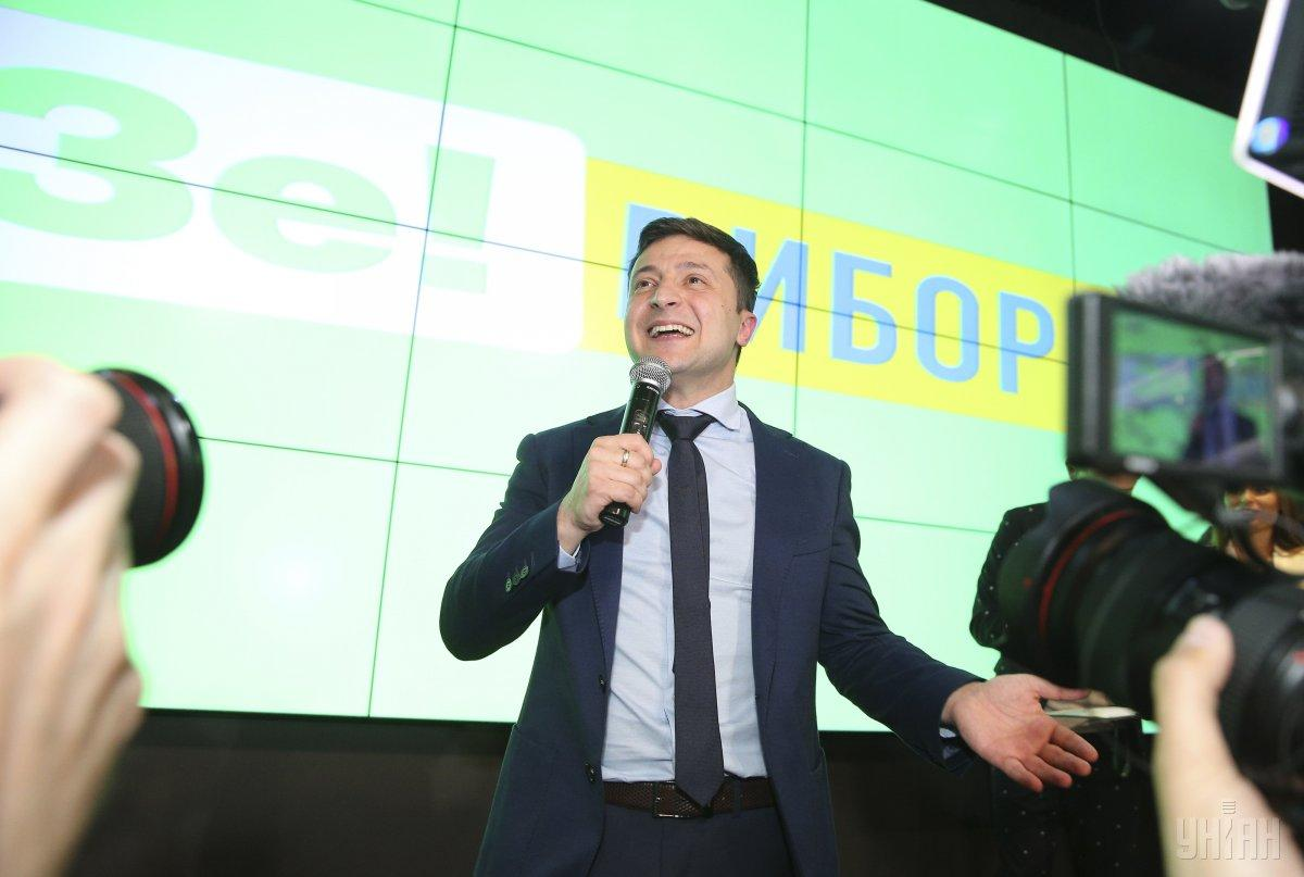 Zelensky has got 30.16% of the vote / Photo from UNIAN