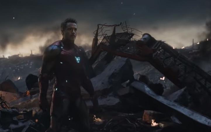 """Фрагменты новых """"Мстителей"""" утекли в сеть / Скриншот - Youtube, трейлер - Мстители 4: Финал"""