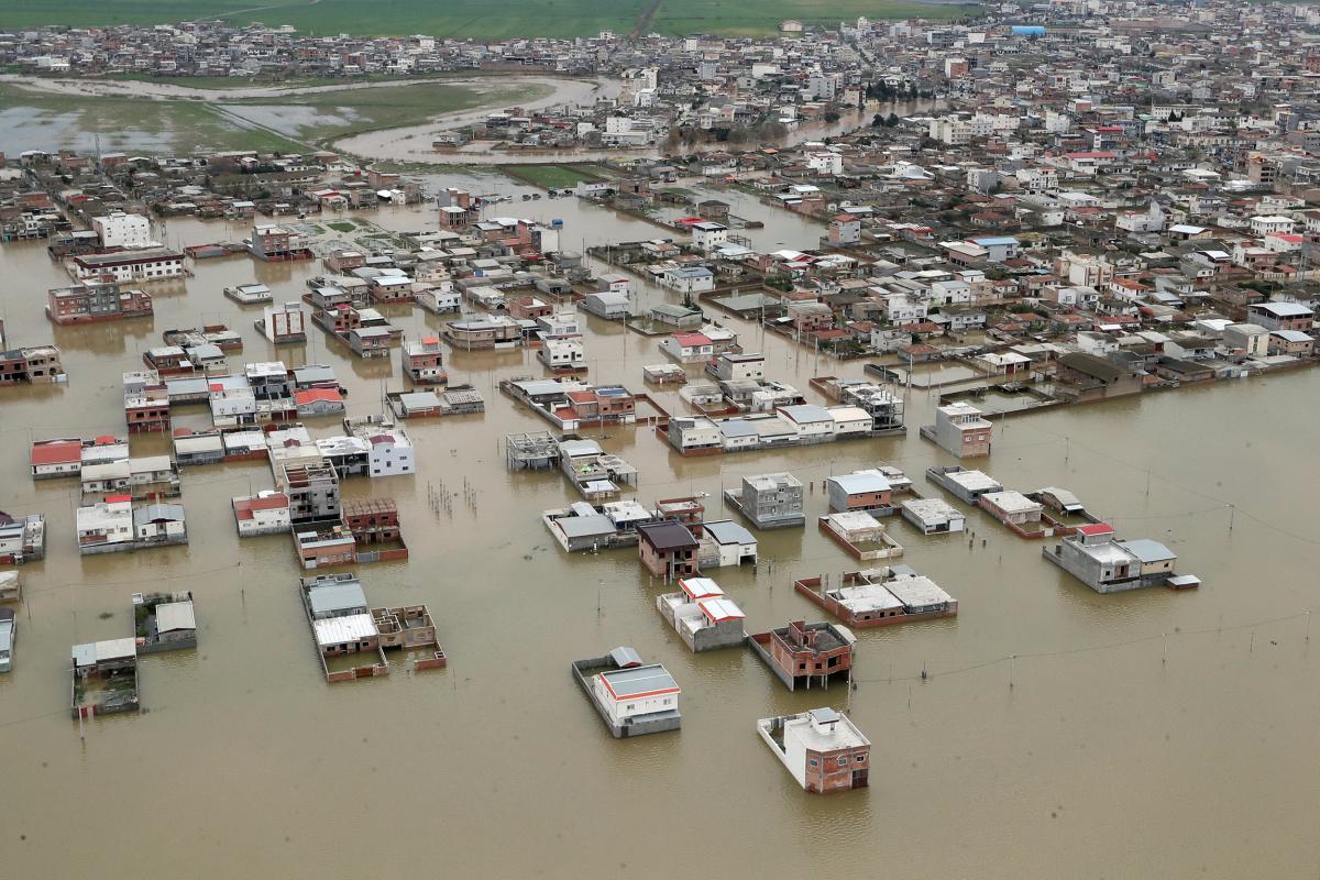 Наводнение в Иране / REUTERS