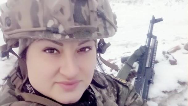 Яна Червона погибла на Донбассе 2 апреля / фото facebook.com