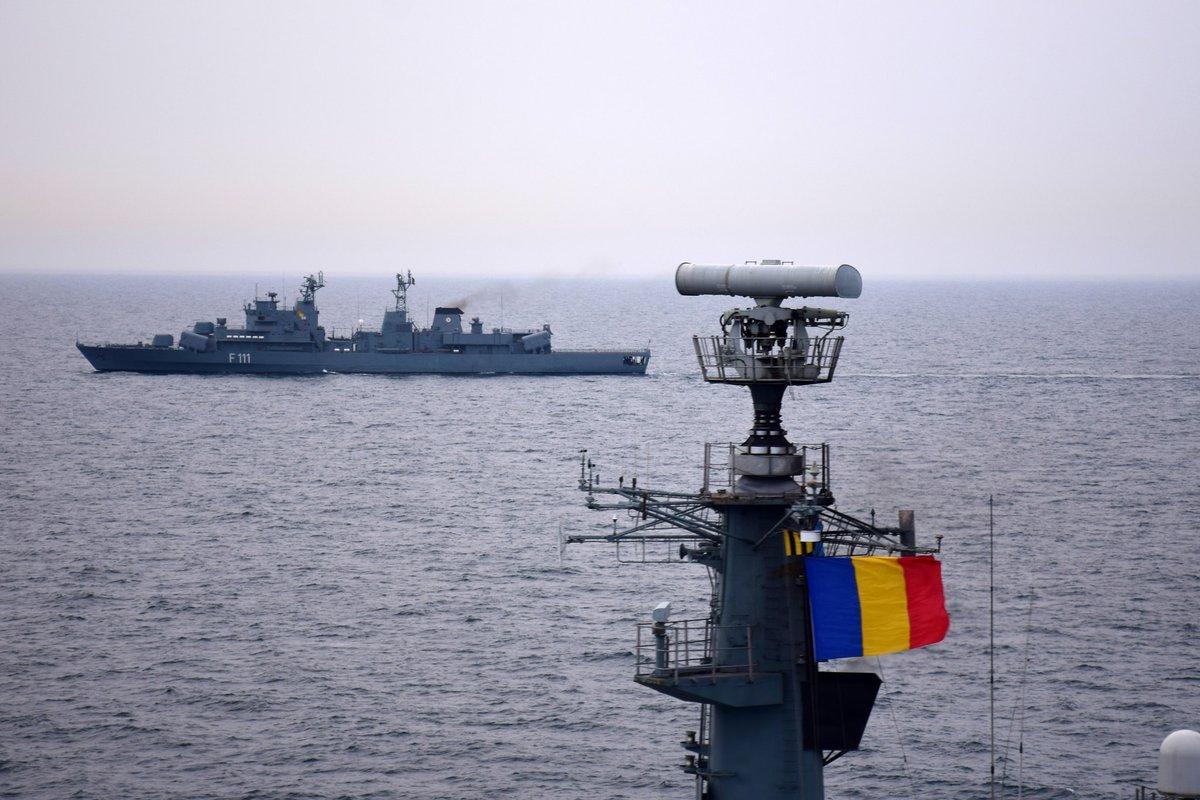The naval drills will start on April 5 / Photo from twitter.com/USNavyEurope